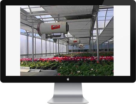 سیستم کنترل هدر رفت انرژی حرارتی گلخانه ها طراحی شد